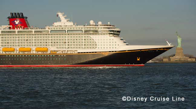 Disney Fantasy Arrives in New York City