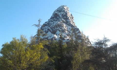 A check on the Matterhorn.  More scaffolding is removed.