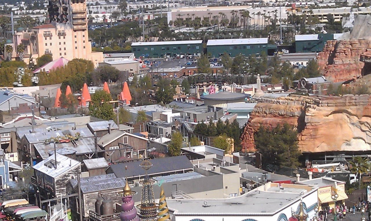 Another picture of Cars Land.