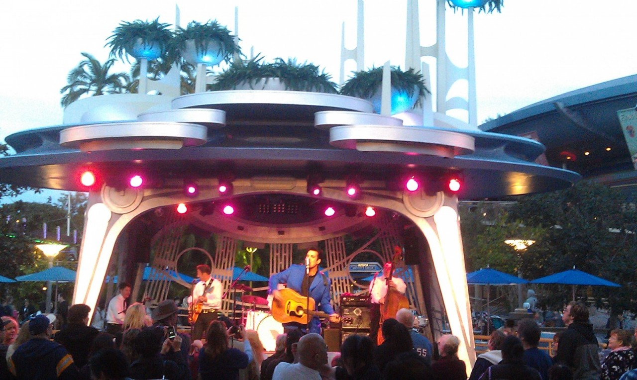 Elvis, Scot Bruce, is at Tomorrowland Terrace this weekend.