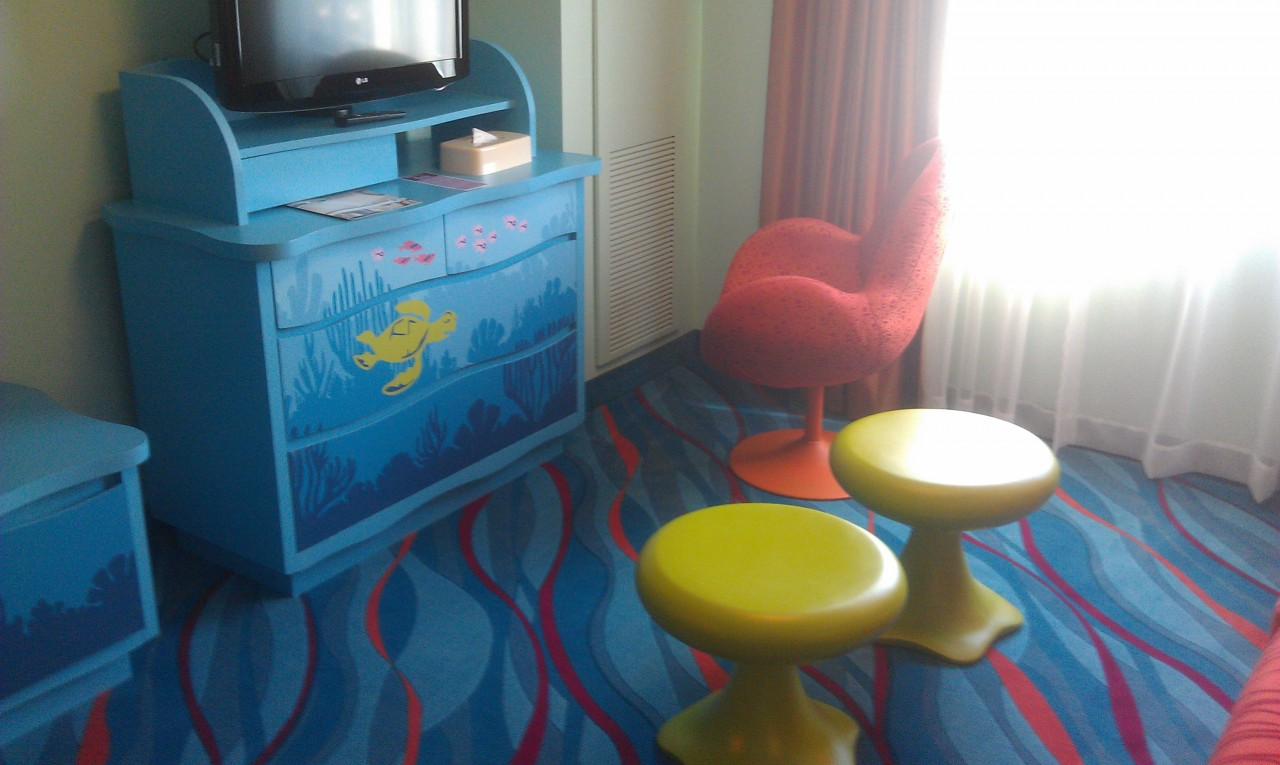 A look into one of the Nemo Rooms