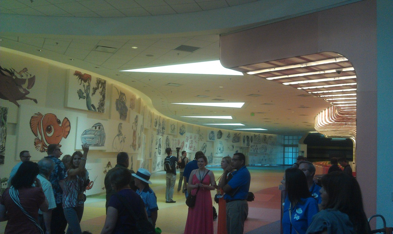 Animation Hall at the soon to open Art of Animation Resort