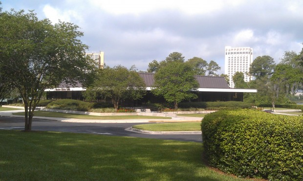 Answer:  It was the original preview center for WDW.  It is now used by the Amatuer Athletic Union.