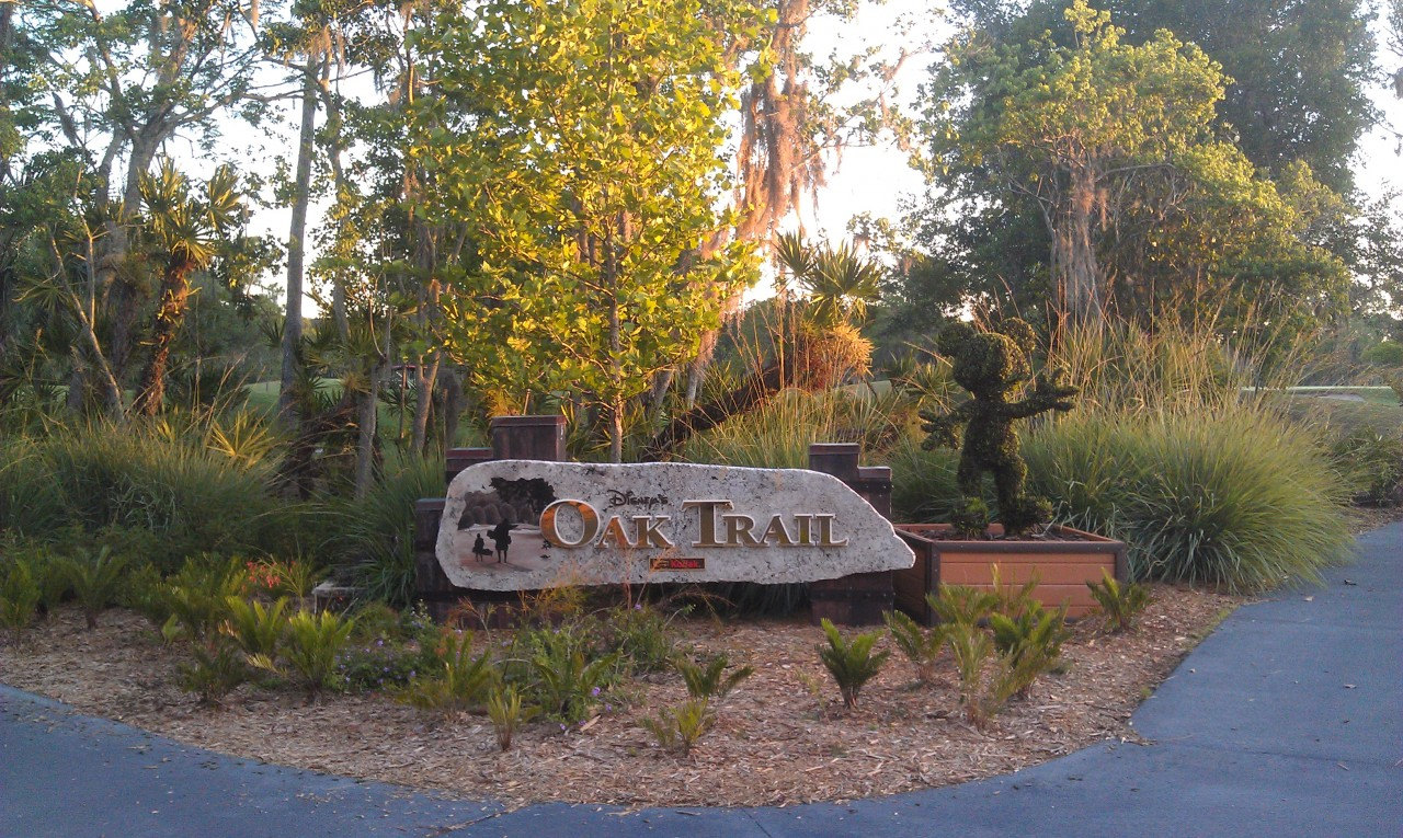 Arriving at Oak Trail
