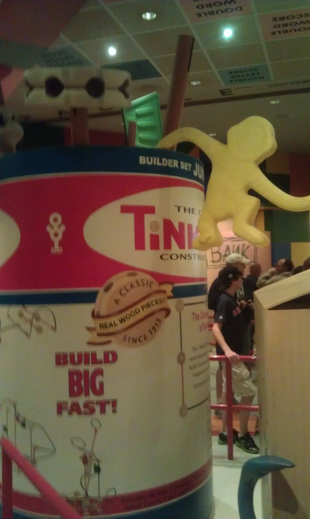 First attraction of the morning Toy Story