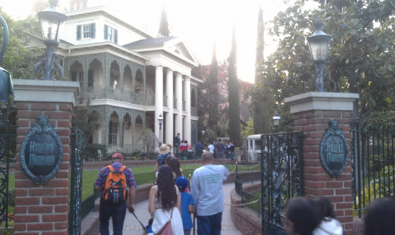 Haunted Mansion was a walk on too..