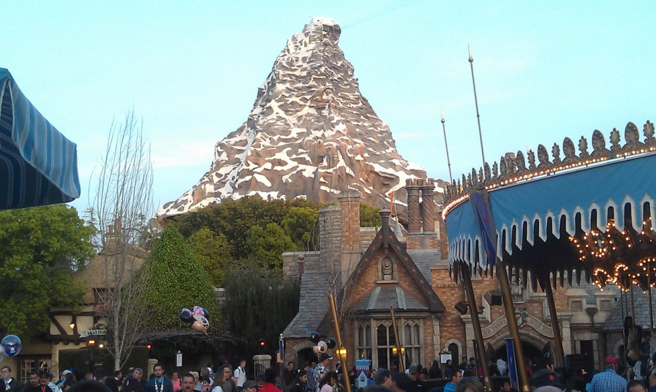 Matterhorn from Fantasyland