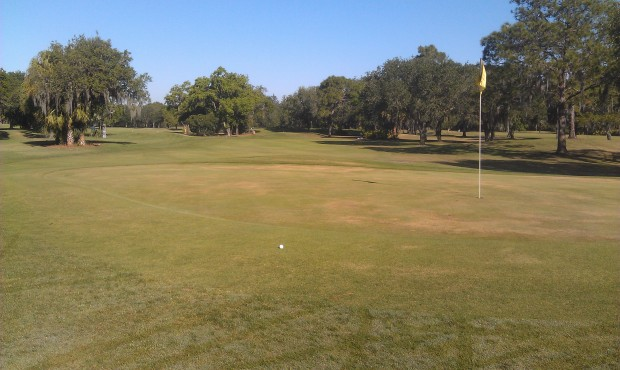 My best shot of the day was the tee shot on 9.  Two putted from there for my only par of the day.