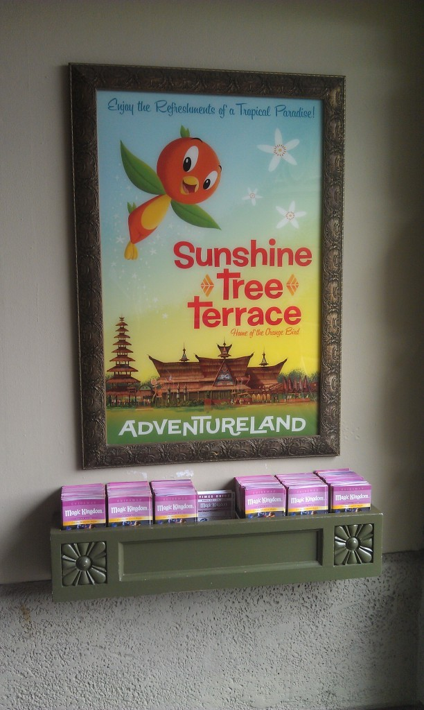 Noticed a Sunshine Tree Terrace poster as I headed for Main Street.