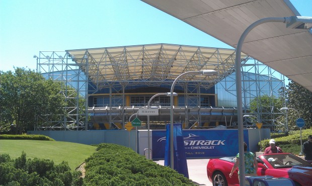 Noticed the large Test Track banners have been removed.