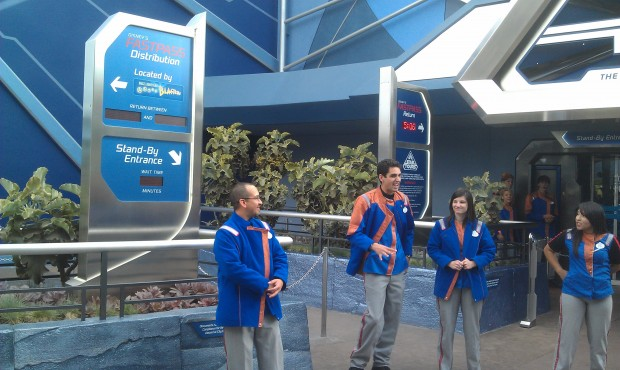 Star Tours is currently closed.