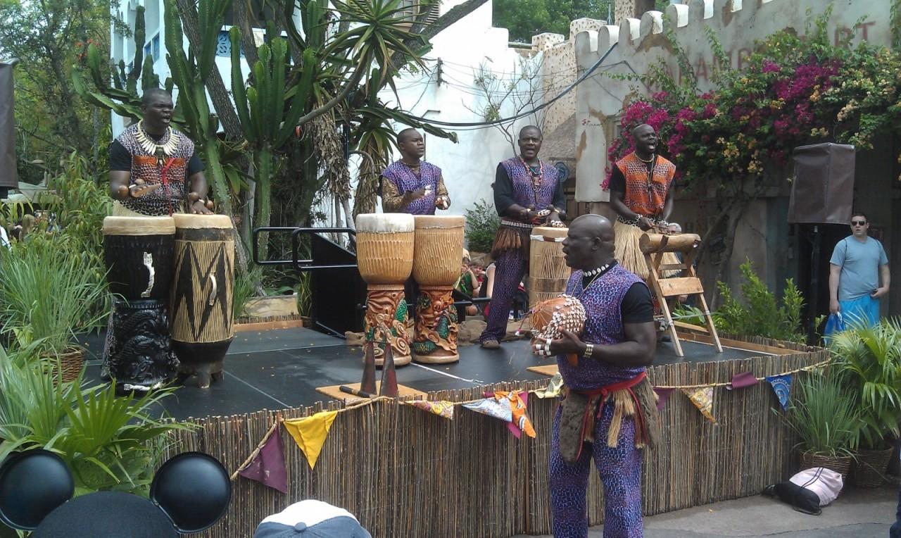 Tam Tam Congo in Africa