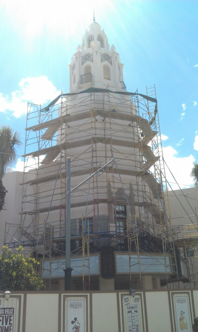 The Carthay from the front.