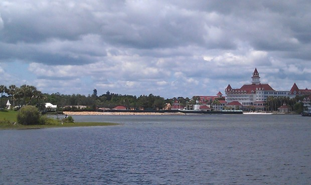 The Grand Floridian DVC work from the TTC ferry dock.