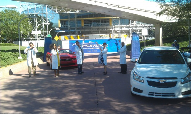 The Test Track All Stars.