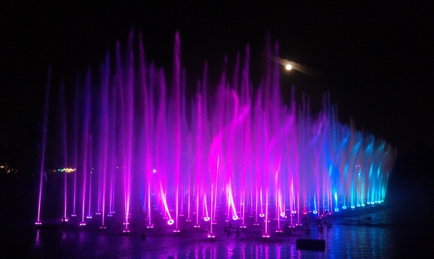 Time for World of Color.