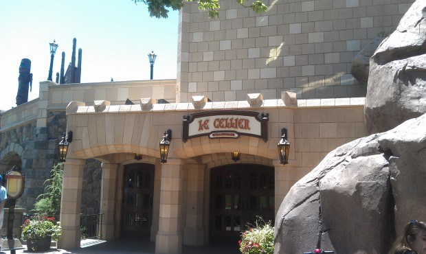 Time for lunch at Le Cellier