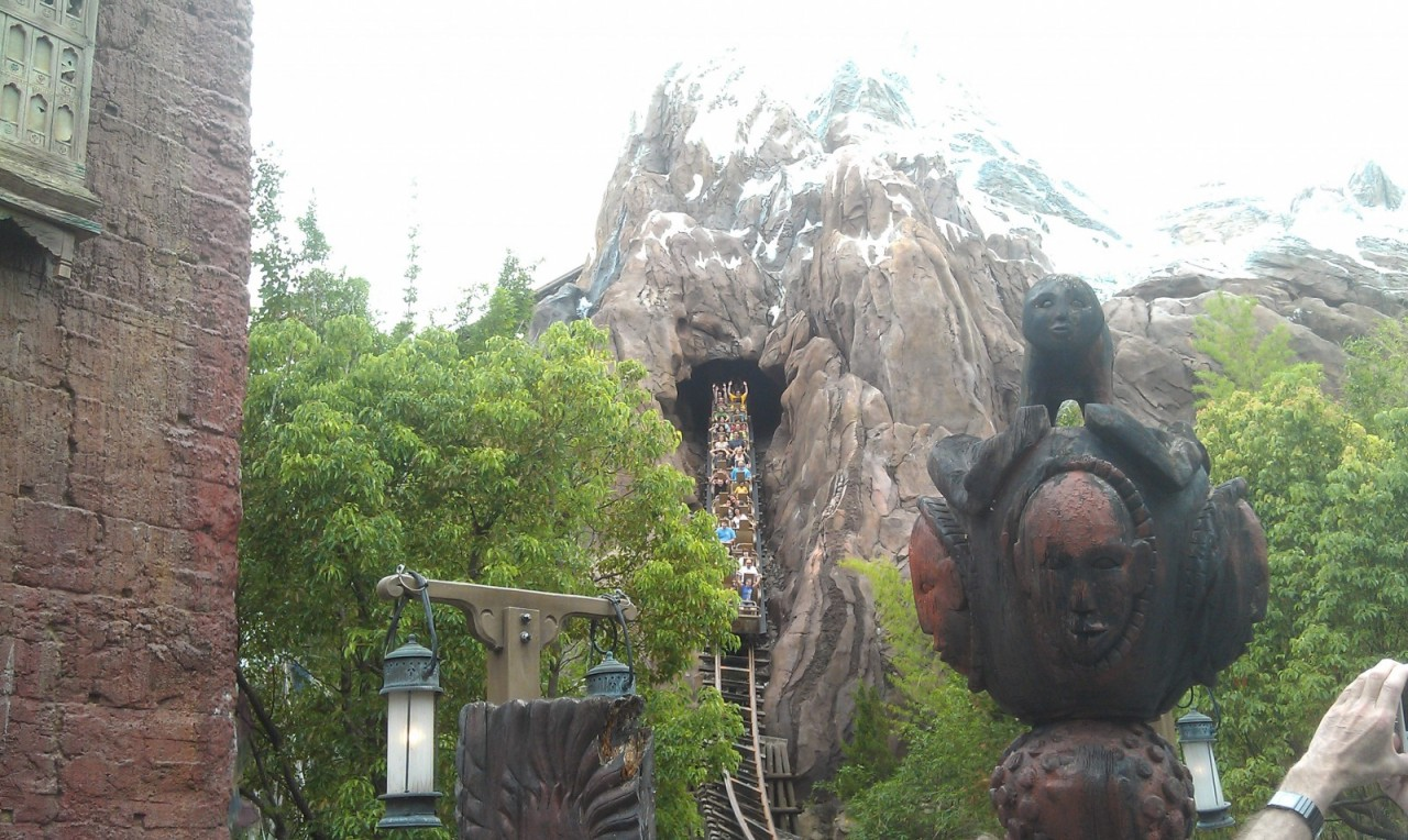 Walking by Expedition Everest