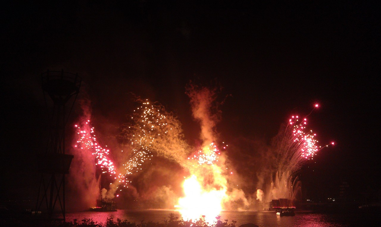 Well took 70 min but made it to World Showcase just as the first shells were going off for Iluminations