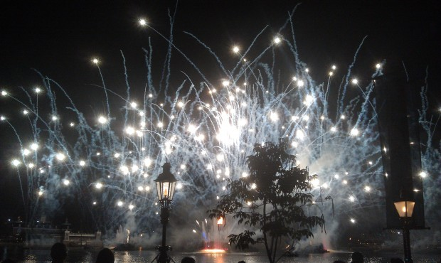 Wrapping up the evening at EPCOT with Illuminations