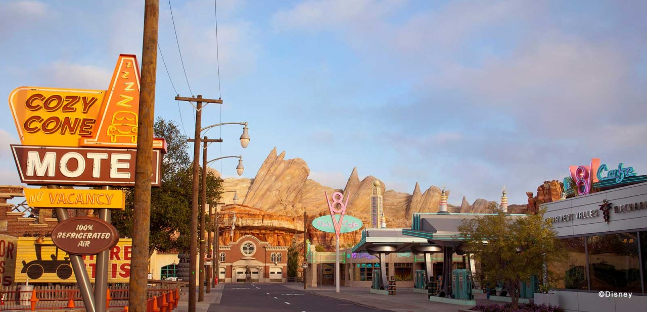 New Cars Land Pictures Released by Disney