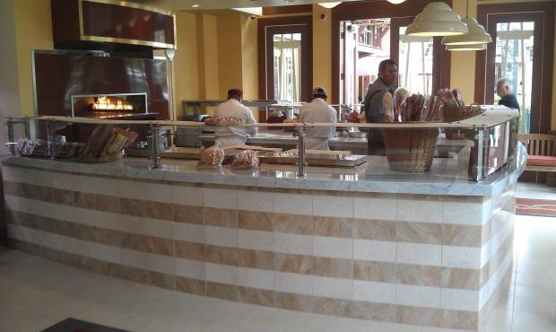 A look inside the new Express side of La Brea Bakery.
