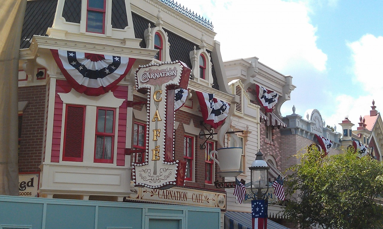 Carnation Cafe signage has been installed since last week.