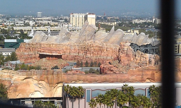 Cars Land from the Fun Wheel