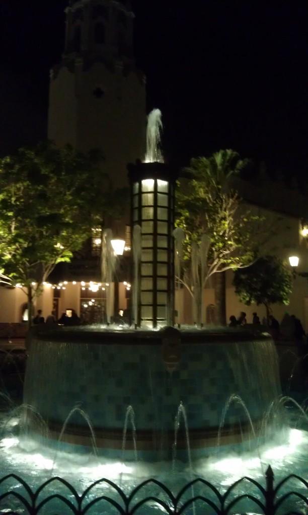 Carthay Circle at night