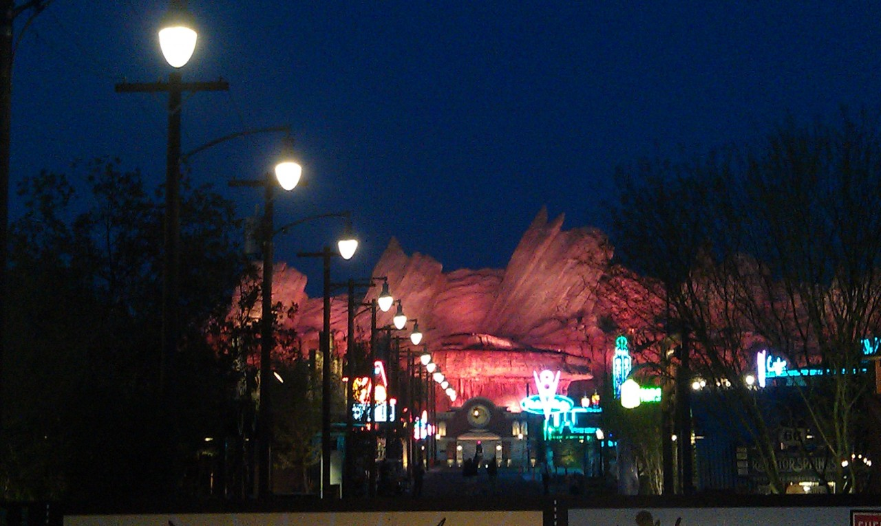 Lights are on now on Route 66