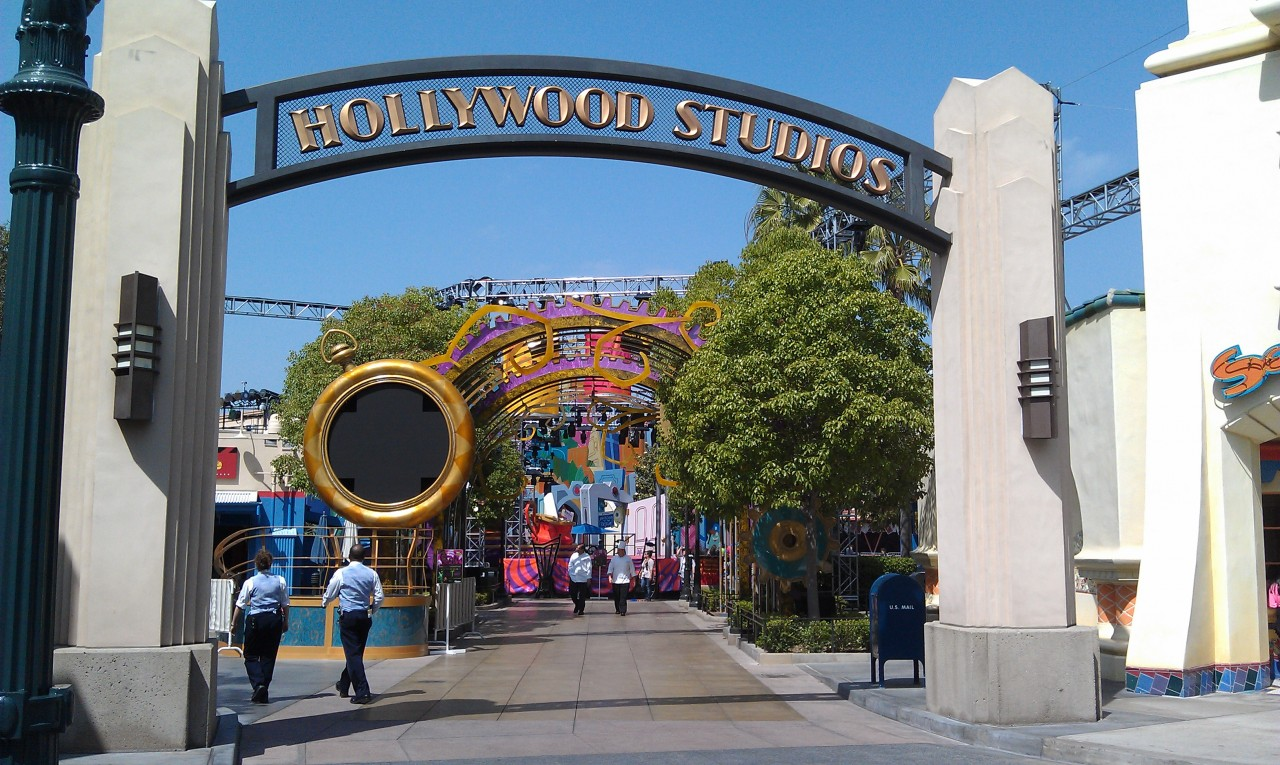 The Mad T Party take over of the Studios portion of Hollywood Land is almost complete.