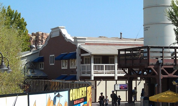 The scaffolding is down from around Ghirardelli.