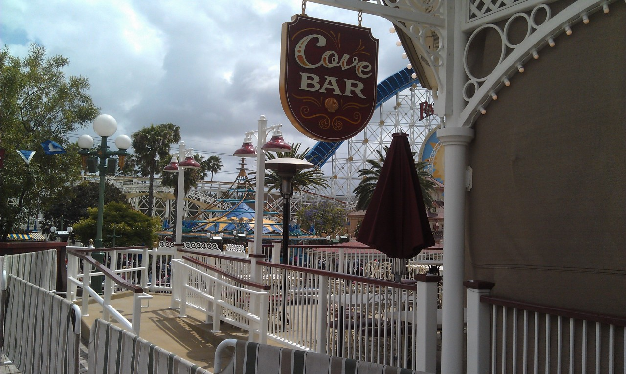 Walls have come down around the Cove Bar (repost since my earlier somwhow lost its image)