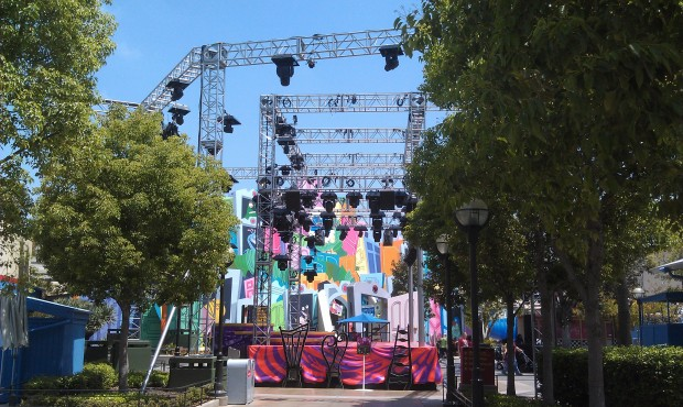 the Mad T Party is taking over the Backlot.