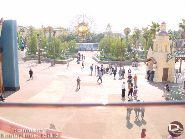Sunshine Plaza From the Monorail (2/20/2002)