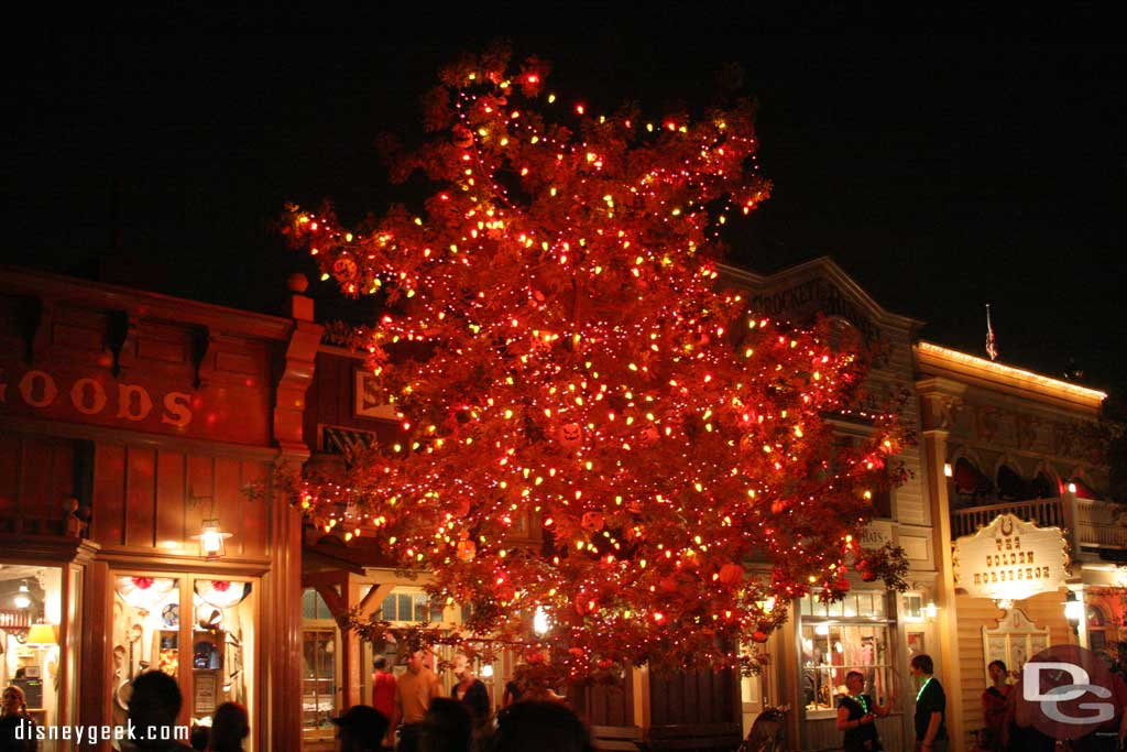 Halloween Tree @ Night