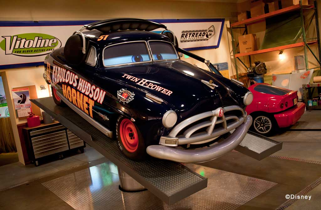 First look at the Radiator Springs Racers Interior Show