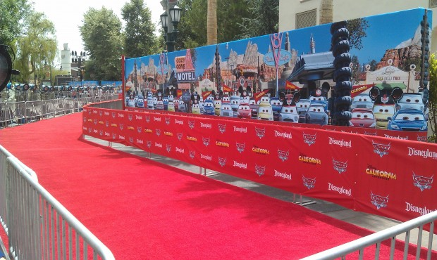 A look at the Red Carpet for tonight.