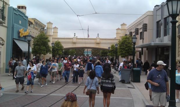 A look down #BuenaVistaStreet
