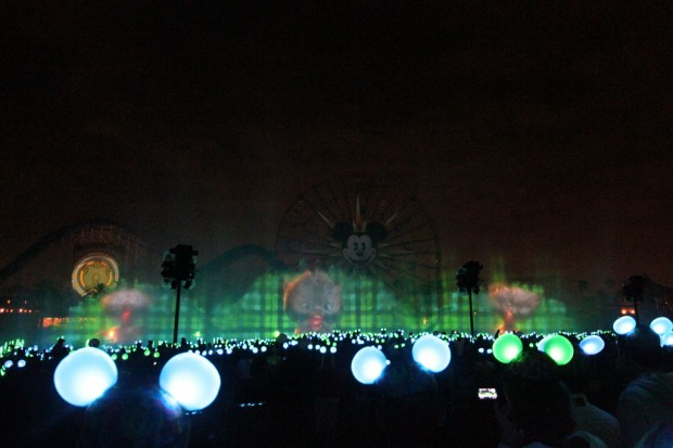 A picture of the Brave segment in World of Color