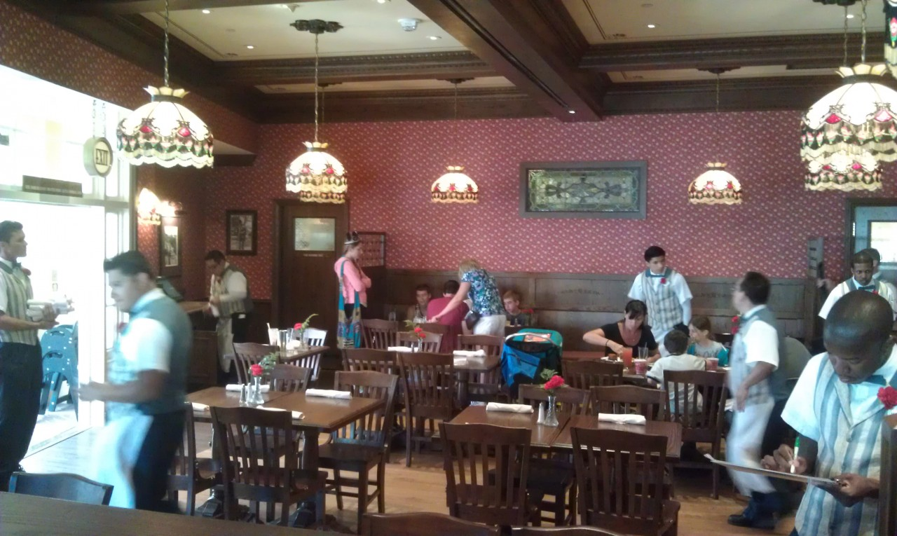 A quick look inside the Carnation Cafe
