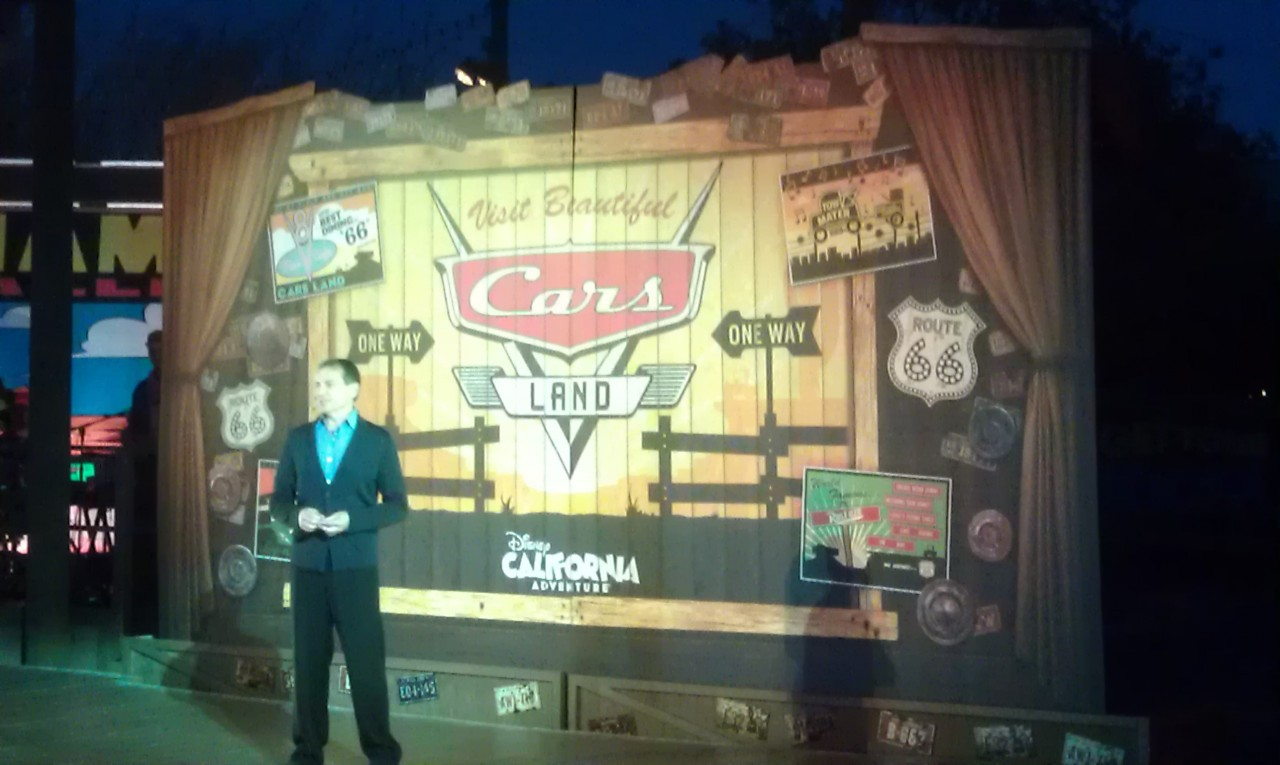 Bob Iger kicks off the #CarsLand opening