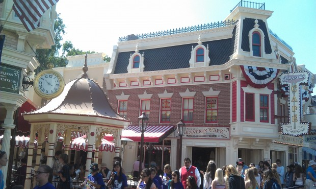 Carnation Cafe has reopened at #Disneyland