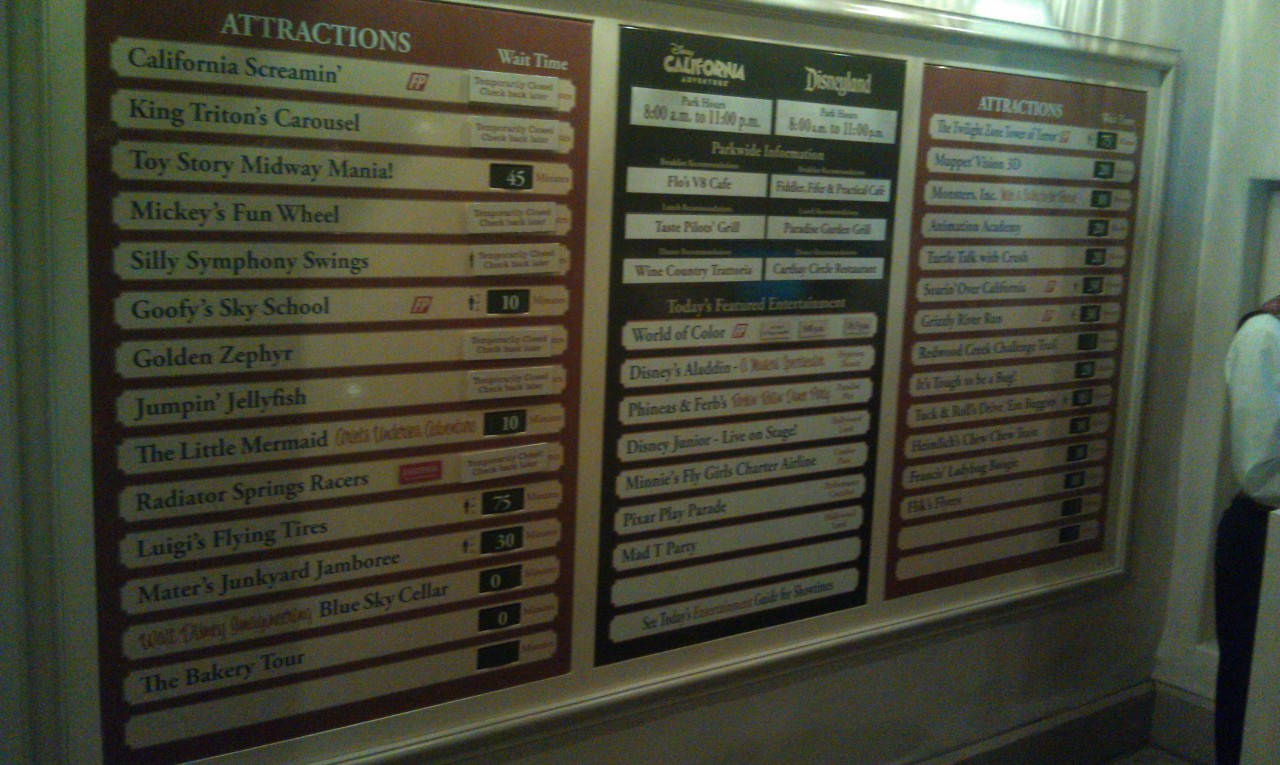 Current DCA waits as of 9:30pm