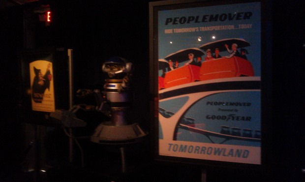 Disneyland tomorrowland item