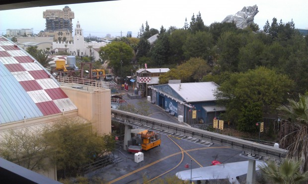 Good Morning Disney California Adventure!  Another full day of events today in store.