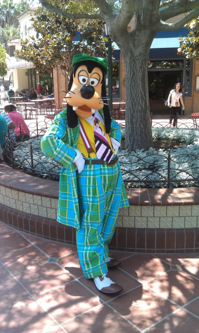 Goofy on #BuenaVistaStreet