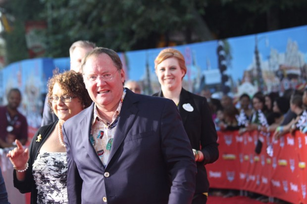 John Lasseter on the Red Carpet