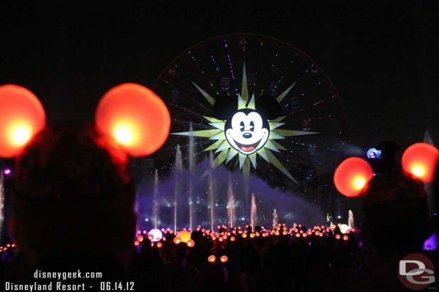 World of Color Featuring Glow with the Show Mouse Ears