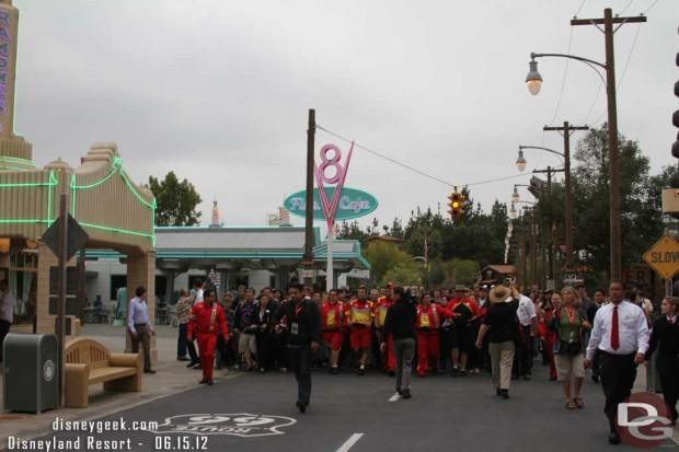 Cars Land March...